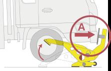 進入車両停止装置「とまるぞーⅡ」で車が強制停止するしくみ