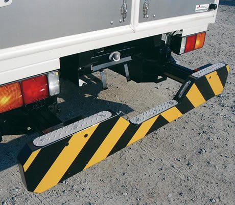 バック・ガード(収納式)(車両用追突緩衝装置)