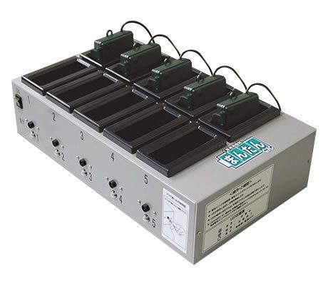 電池ユニット専用充電器「まんたんくん」