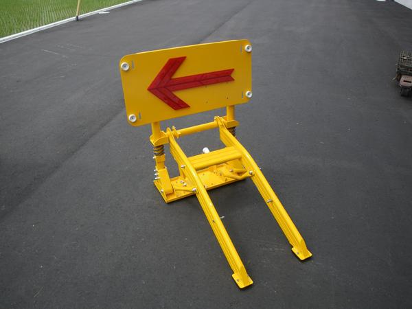 進入車両停止装置ミニとまるくん(普通車用)